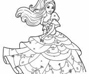 Coloring pages Easy barbie