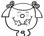 Coloring pages Little Miss Princess