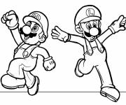 Coloring pages Mario drawing online