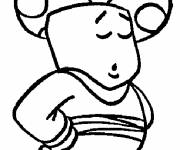 Coloring pages Color drawing of Toad