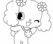 Free coloring and drawings Jewelpet downloadable Coloring page