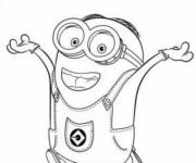 Coloring pages Drawinf of Minions
