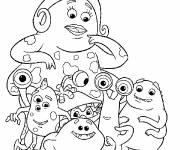 Coloring pages Monsters and company to download