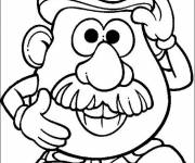 Coloring pages Mr. Potato drawing to color free