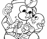Coloring pages Mr. Potato to color cartoon
