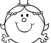 Coloring pages Drawing of Miss Princess