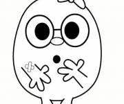 Coloring pages Mr. badluck