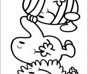 Coloring pages Mr. Bump in color