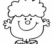 Coloring pages Funny Mr. Men Little Miss