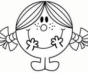 Coloring pages Mr. Men Little Miss to print for free
