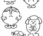 Coloring pages The cute Mrs. Potato