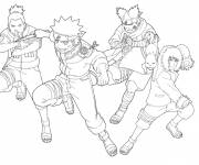 Coloring pages Naruto in color