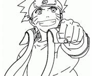 Coloring pages Naruto shippuden