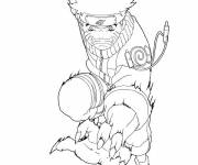 Coloring pages Naruto Uzumaki online