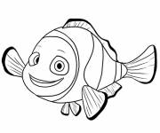 Coloring pages Drawing of Nemo