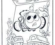 Free coloring and drawings Easy drawing Dory Coloring page