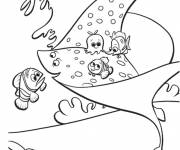 Coloring pages Nemo and his friends