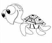 Coloring pages Nemo cartoon