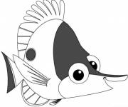 Coloring pages Nemo coloring