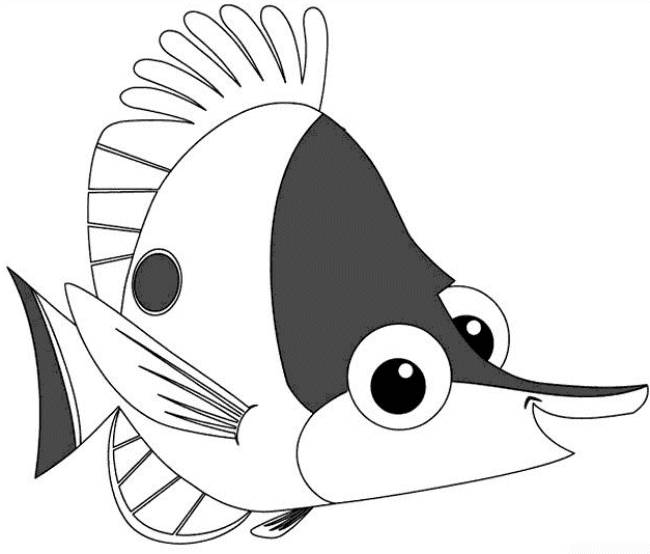 Free coloring and drawings Nemo coloring Coloring page