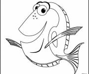 Coloring pages Nemo: Dory
