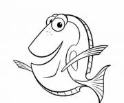 Coloring pages Nemo: Dory's world