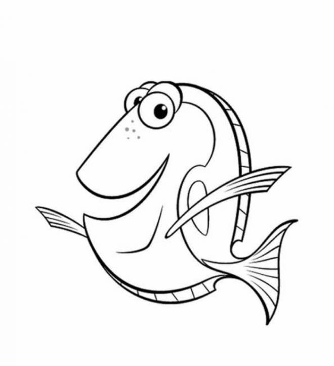 Free coloring and drawings Nemo: Dory's world Coloring page