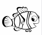 Coloring pages Nemo drawing