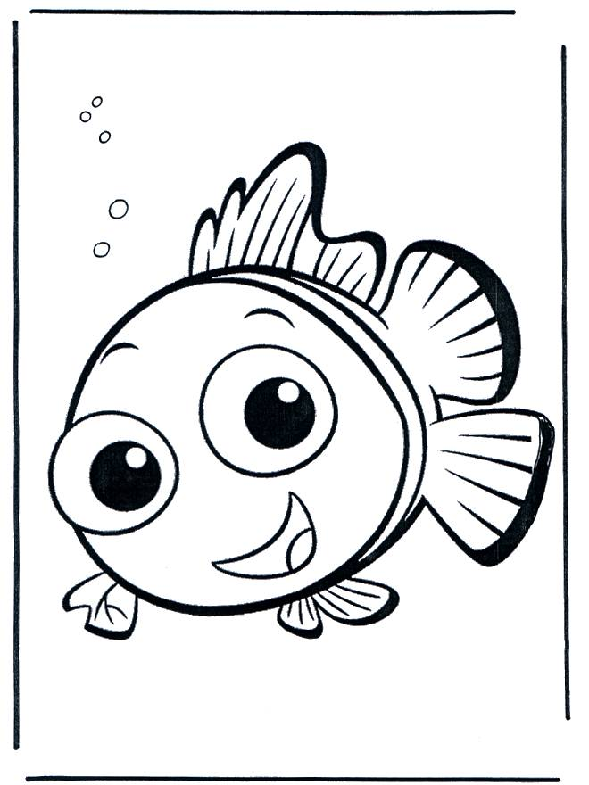 Free coloring and drawings Nemo's drawing Coloring page