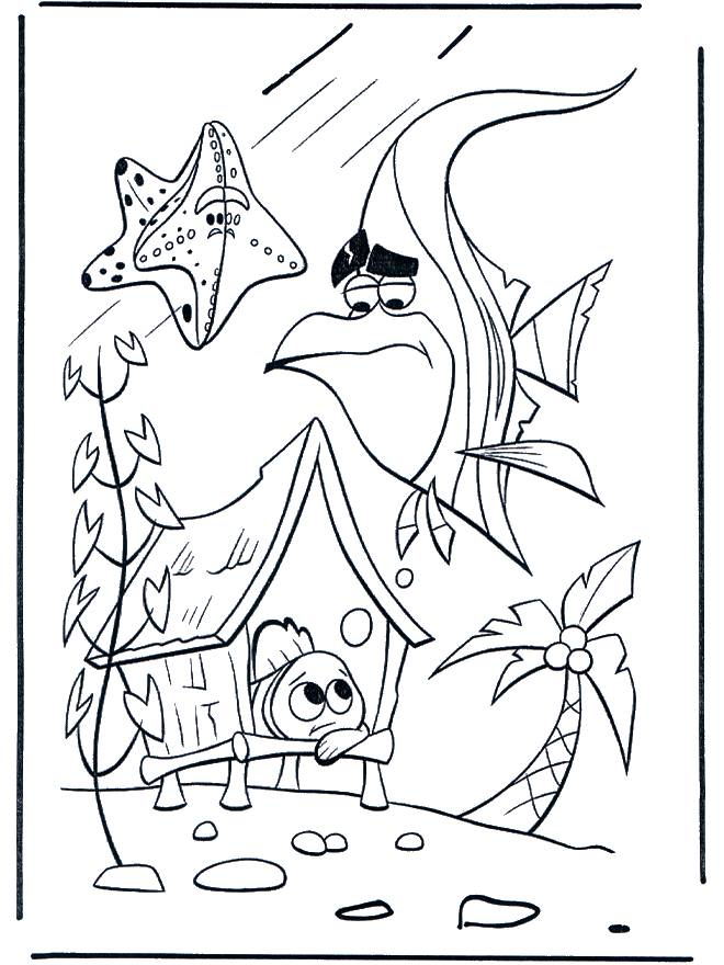 Free coloring and drawings Nemo to download Coloring page