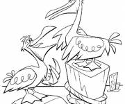 Coloring pages The admirable Nemo