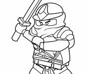Coloring pages Ninjago Rouge