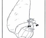 Coloring pages Almighty obelix