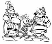 Coloring pages Asterix, Obelix and The Romans