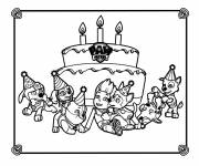 Coloring pages Paw Patrol cartoon
