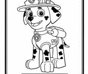 Coloring pages Paw Patrol Marcus