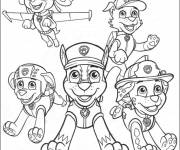 Coloring pages Paw Patrol online