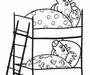 Coloring pages Peppa Pig color