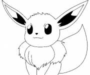 Coloring pages Angry Pikachu