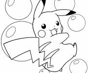 Coloring pages Coloring page of Pikachu