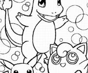 Coloring pages Pokemon Charmander