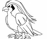 Coloring pages Pokemon Pidgeotto