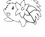 Coloring pages Pokemon shaymin