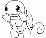 Coloring pages Shell Shell Pokemon Online