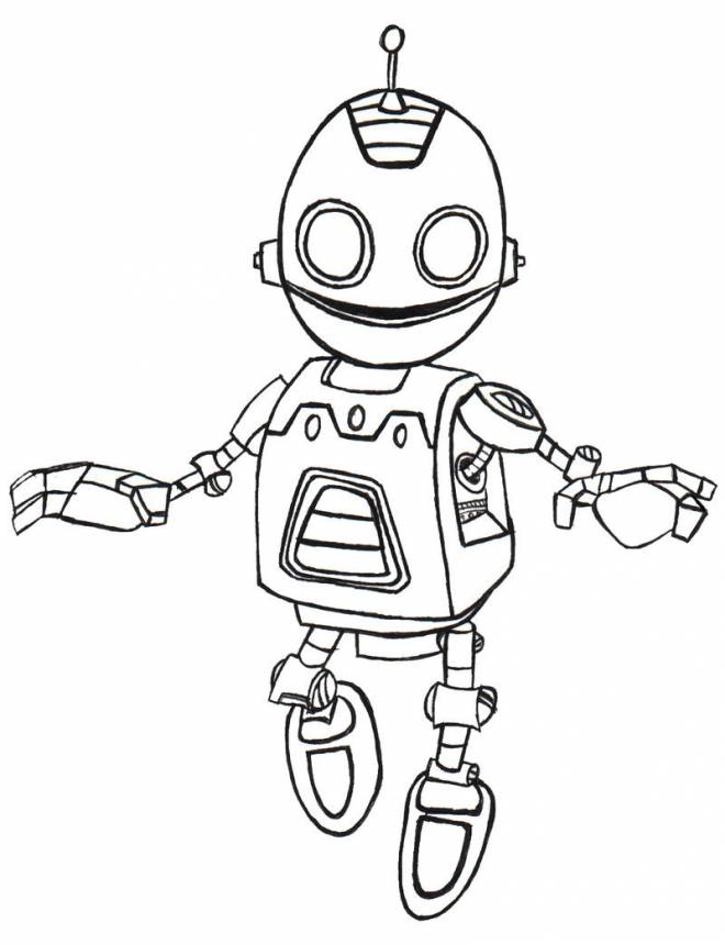 Free coloring and drawings Drawing Ratchet and Clank to download  Coloring page