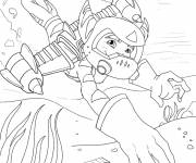 Coloring pages Ratchet and Clank 11