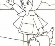 Coloring pages Red Riding Hood online