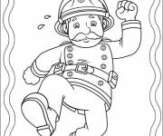 Coloring pages online Fireman Sam