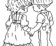 Coloring pages Sarah Kay coloring page