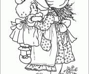 Coloring pages Sarah Kay Coloring Pages